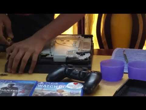 PS4 1215  model fan cleaning