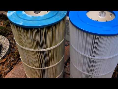 Replacing Swimming Pool Cartridge Filter