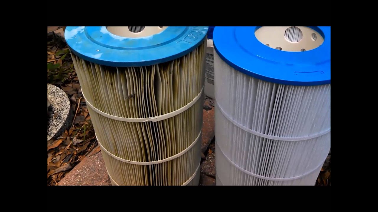Replacing swimming pool cartridge filter youtube How to clean swimming pool filter cartridge