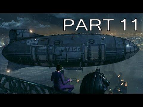 Batman: Arkham Knight Gameplay Walkthrough Part 11 - Blimps! - No Commentary [PC 60FPS]