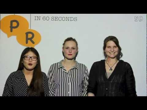 Lobbying-PR in 60 seconds