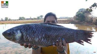 Making Big Fish Gravy Recipe | INDIAN TRADITIONAL VILLAGE RECIPE | Andhra Chepala Pulusu
