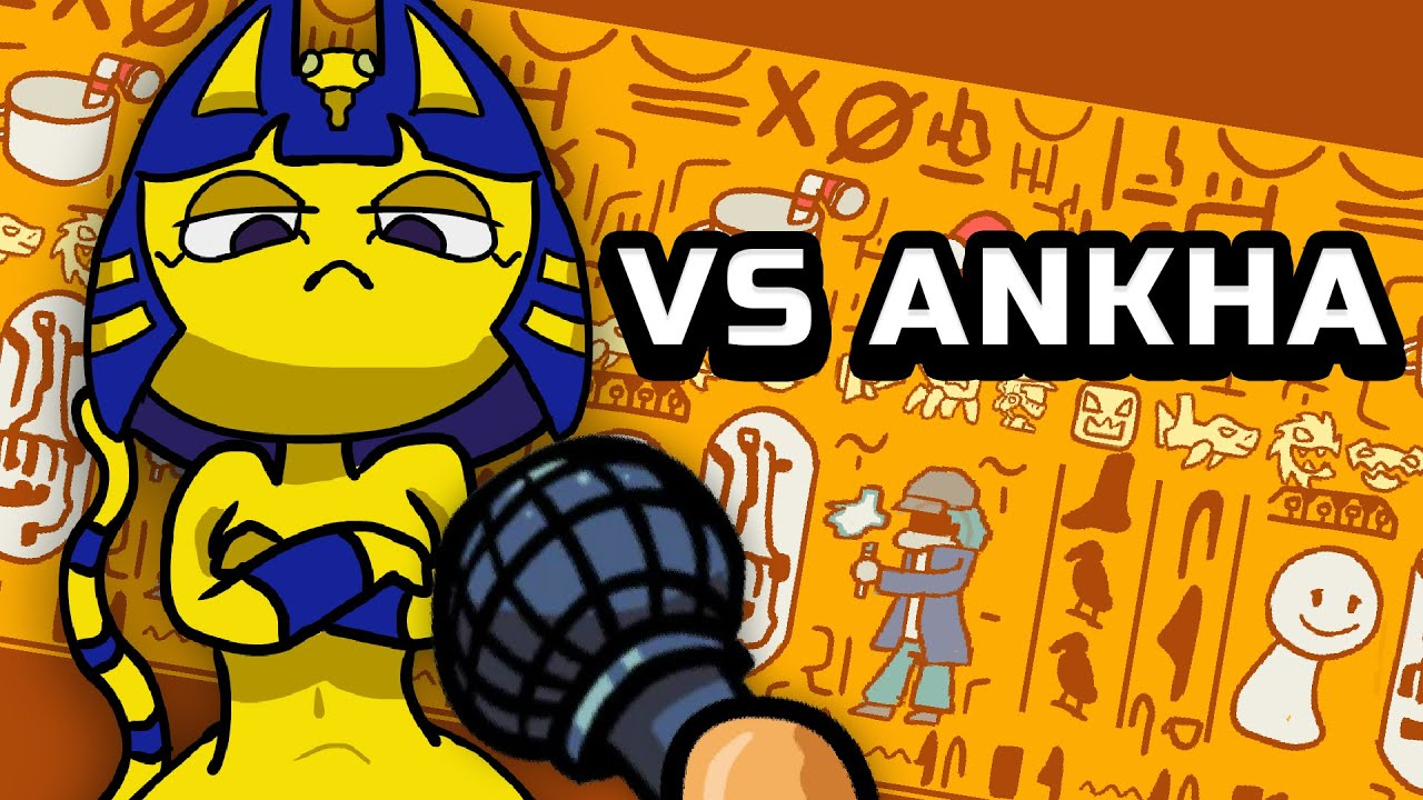 Friday Night Funkin' VS Ankha - A Tail of Trouble - Mod Release