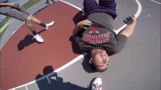 Guy Gets His Ankles Broken Playing Basketball