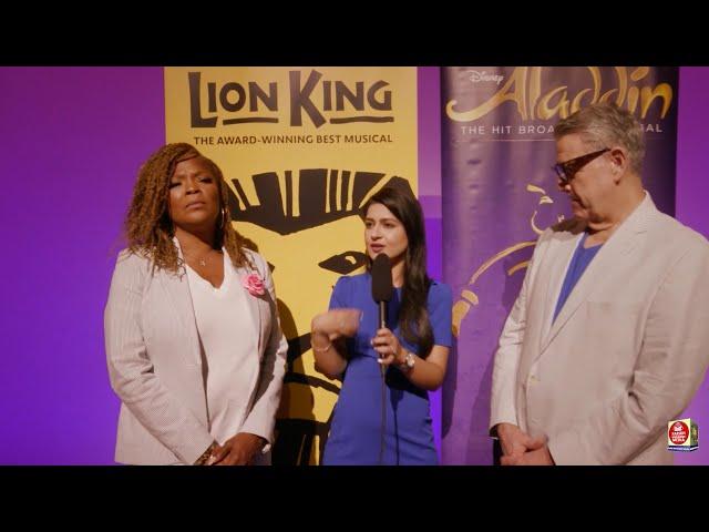 Disney on Broadway Returns with The Lion King and Aladdin - Jonathan Freeman and Bonita J Hamilton