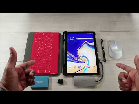 Great Accessories For Your Samsung Galaxy Tab S4...