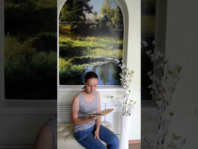 Изображение предпросмотра прочтения – КсенияЯзинькова читает произведение «В саду» А.А.Фета