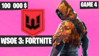 Fortnite WSOE 3 Duo Tournament Game 4 Highlights [Fortnite Tournament 2018]