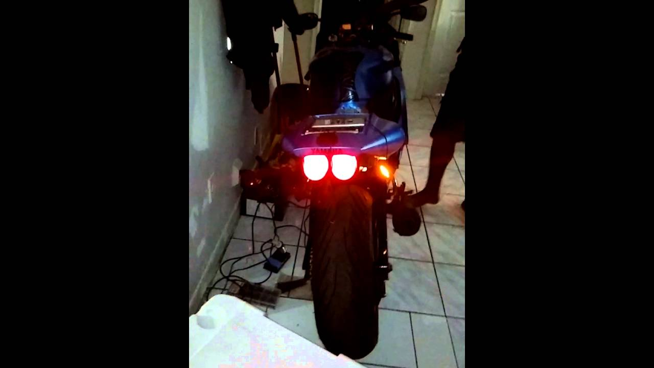 Motorcycle Led Turn Signal Both Side Blinking At The Same Time Fix Kawasaki Er6n Wiring Diagram Youtube