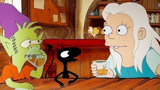 DISENCHANTMENT Trailer (2018) The Simpsons Creators Animated Netflix Series HD