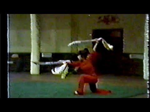 【武術】1984 女子双刀 / 【Wushu】1984 Women Shuangdao (Double Swordplay)