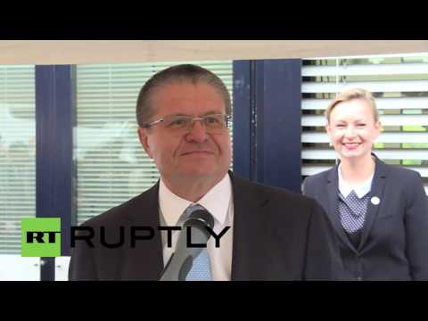 Switzerland: Ulyukaev opens permanent Russian WTO office in Geneva
