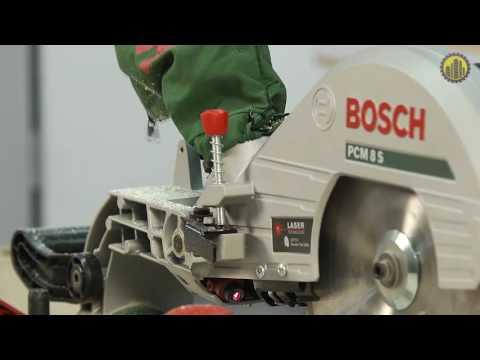 Видео обзор: Пила торцовочная BOSCH PCM 8 S