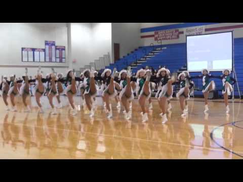 Connally Stars Cotton Eye Joe High Kick Routine