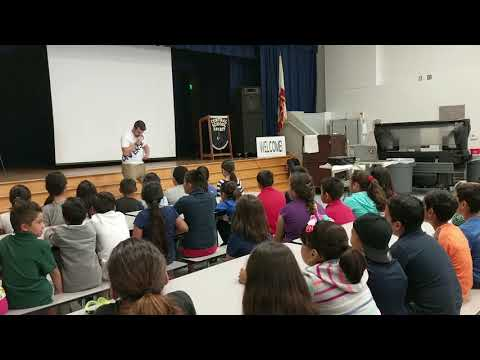 Youth Motivational Speaker Josh Drean Visits Central Elementary
