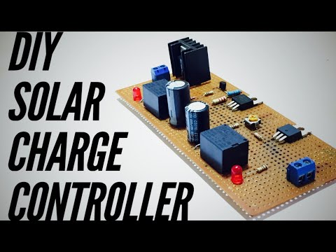 DIY How to make a Solar Charge Controller