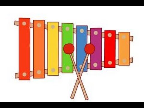 how to draw a xylophone youtube xylophone clipart images xylophone clipart free