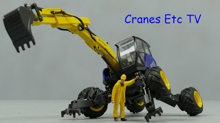 Conrad Kaiser S12 Allroad Walking Excavator by Cranes Etc TV