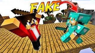 ON TROLL DES JOUEURS AVEC UNE FAUSSE ARMURE EN DIAMANT !   Minecraft