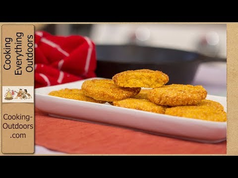 How To Make Hot Water Cornbread - Corn Pone Recipe