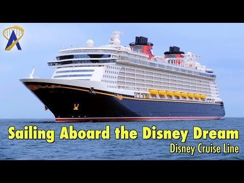 Sailing Aboard The Disney Dream Cruise Ship With Disney Cruise Line