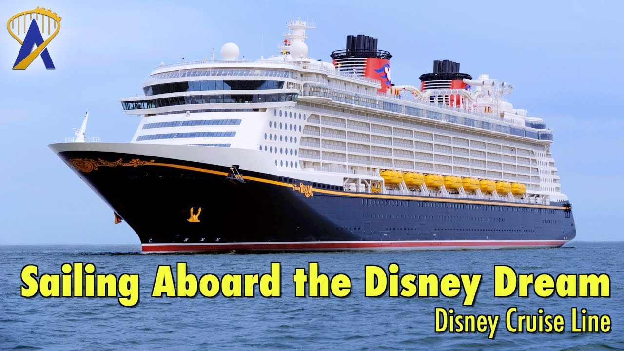 Sailing Aboard The Disney Dream Cruise Ship With Disney