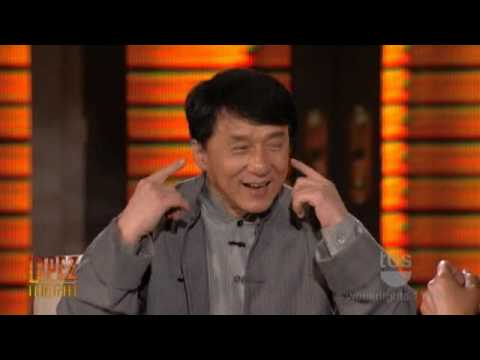 Lopez Tonight - Jackie Chan Interview [Sings Country Music] Part 2 of 2