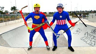 SUPER HERO GAME OF SCOOT! Superman VS Captain America