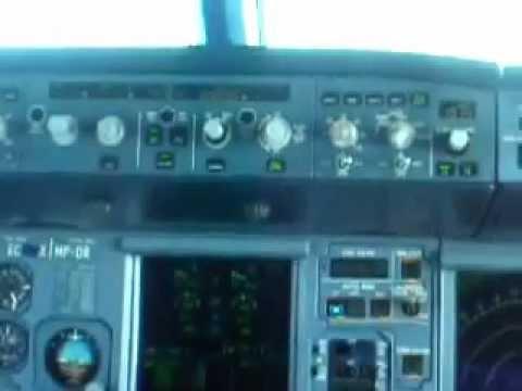 Sudan airways A320 Landing at Jeddah Airport OEJN