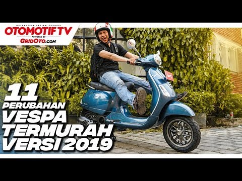 Detail Perubahan Vespa LX 125 I-get 2019, Makin Sporty! | First Impression Review | GridOto