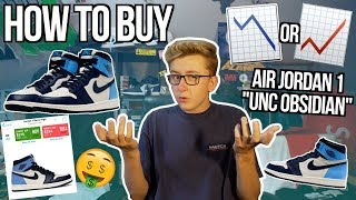 """HOW TO BUY AIR JORDAN 1 """"UNC OBSIDIAN"""" FOR RETAIL! 