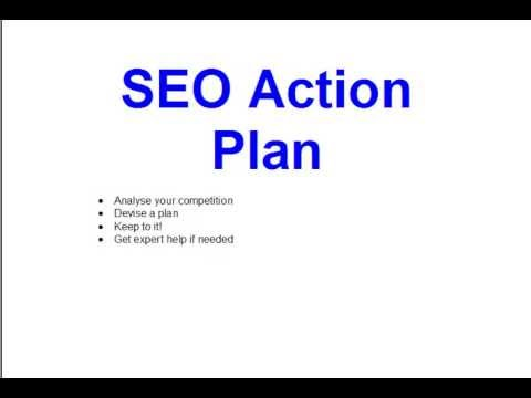 Seo Action Plan  Youtube