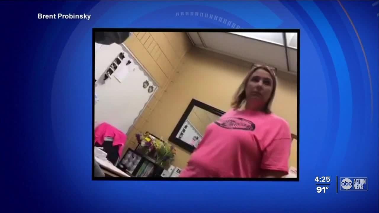 Florida principal under investigation for paddling student