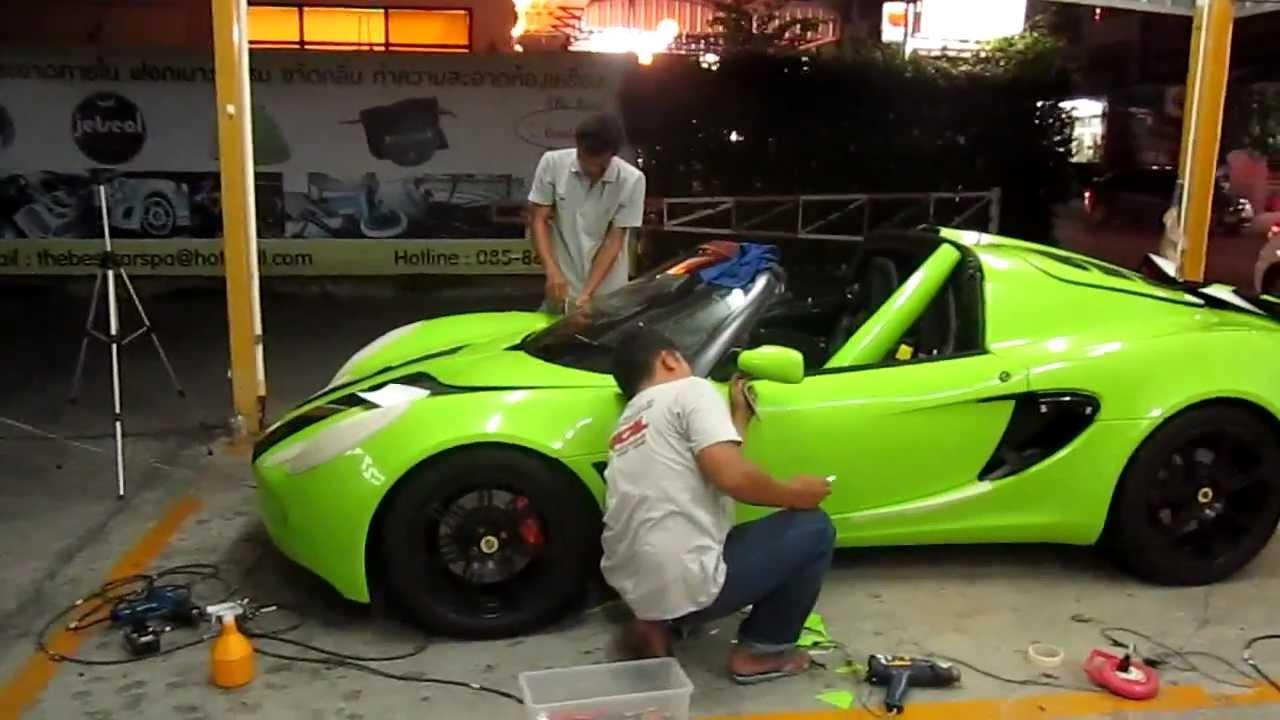 glossy green lotus exige s sunday drive youtube