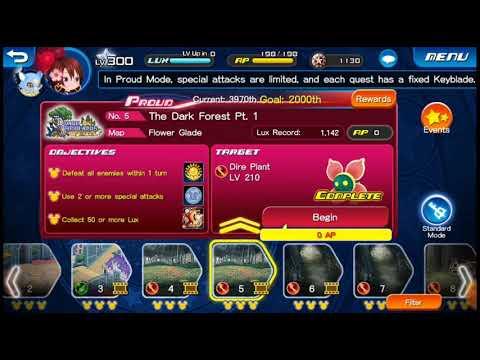 Let's Play: Kingdom Heart: Union X [Cross] Quest 5!