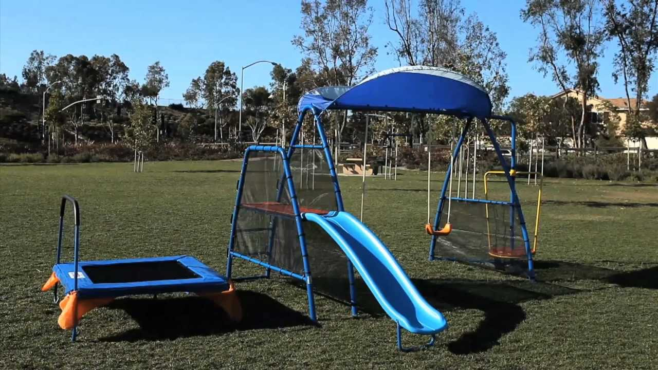 Ironkids Swing Set Playground Youtube