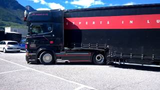 scania r500 v8 power markus emt transport