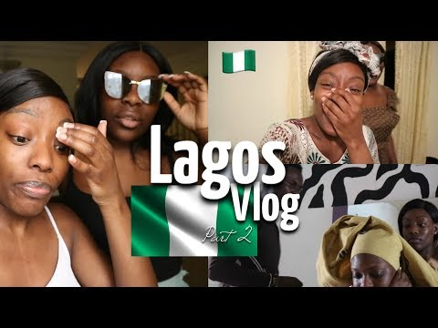 LAGOS 2017 VLOG Pt 2   WEARING MY MUMS CLOTHES?! STEPPING UP MY GELE GAME & CROSSOVER