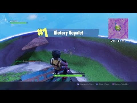 Fortnite Victory royal old video