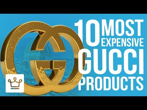 Top 10 Most Expensive Gucci Products