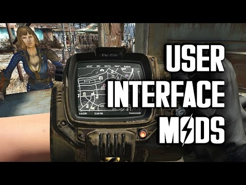 User Interface Mods for Fallout 4 - Customize Your HUD