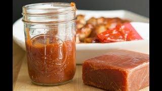 Receta de Salsa BBQ de Guayaba | Cómo Hacer Salsa BBQ | SyS