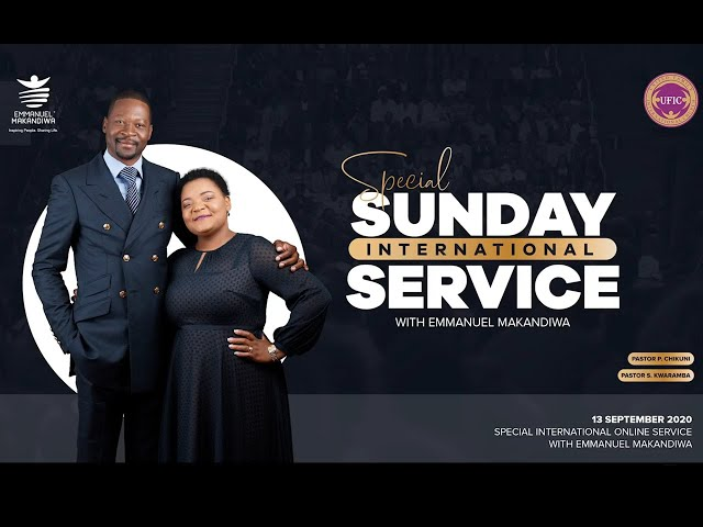 Special Sunday Service with Emmanuel Makandiwa
