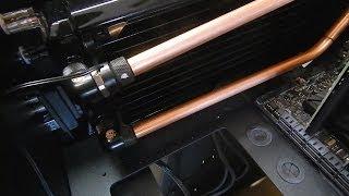 Client Build # 3 - Red Harbinger Desk Gets Copper Part 2
