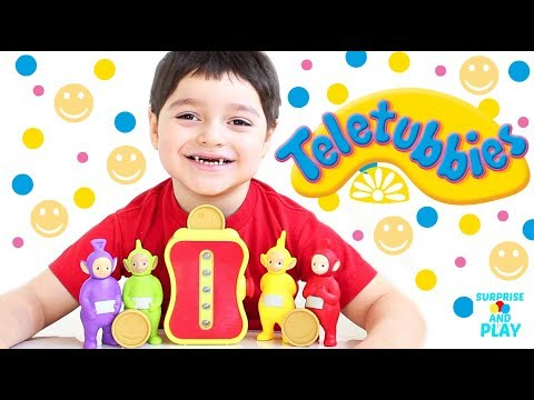 Teletubbies Tubby Toaster Toy Playset Unboxing Making Tubby Toast for the Teletubbies