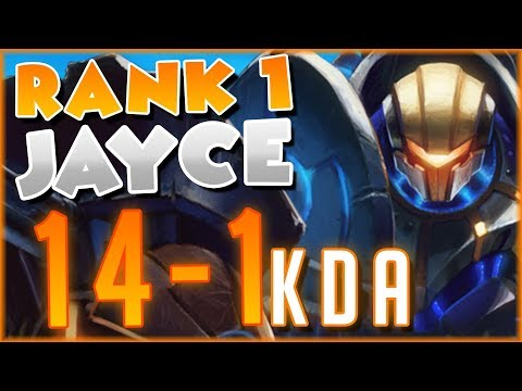 #1 JAYCE SHOWS HOW TO DOMINATE AATROX MATCHUP 1V9 | FULL METAL JAYCE | League Of Legends