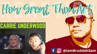 "HAIR RAISING - VINCE GILL & CARRIE UNDERWOOD - ""How Great Thou Art"" 