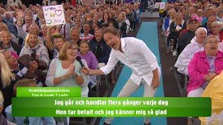 Allsång: Snabbköpskassörskan  - Lotta på Liseberg (TV4)