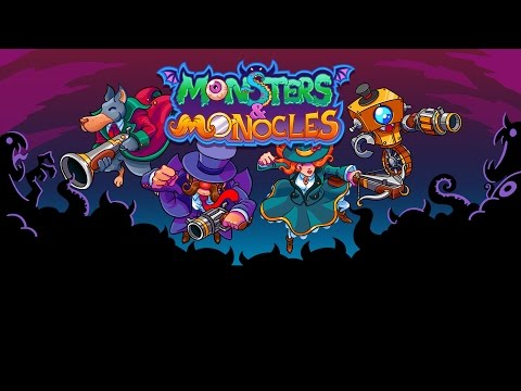 """Live Today Monsters and Monocles (Early Access) Co-op """"A tale of comrades, ballistics, and high tea"""""""