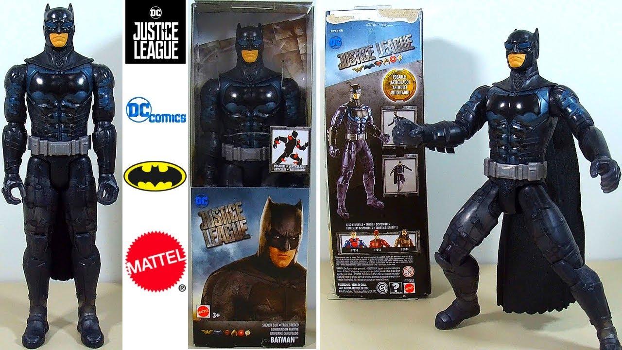 Boneco Batman 30 cm Uniforme Camuflado Liga da Justiça DC Articulado da  Mattel. 12c46daee03